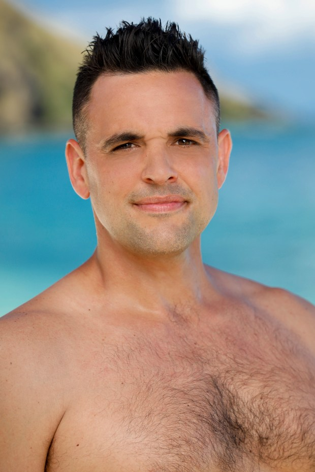Domenick Abbate will be competing on 'Survivor: Ghost Island.' (Robert Voets/CBS)
