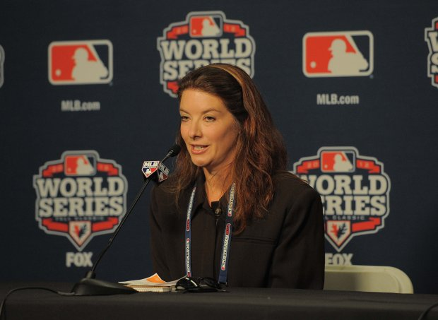 Susan Slusser was the first woman elected as the president of the BaseballWriters Association of America, at the World Series in 2012.