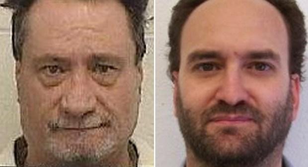 Glenn Cox, left; Jim Junior Nice(Idaho Department of Correction via AP)