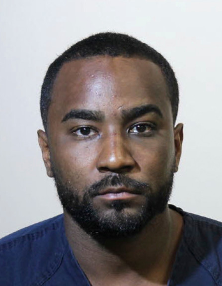 FILE - This file photo provided by the Sanford Police Department shows Nick Gordon. The ex-partner of Bobbi Kristina Brown has been arrested. The Seminole County Sheriff's Office deputies responded to calls about a possible domestic disturbance around 1 a.m. Saturday, March 10, 2018, the Orlando Sentinel reports. (Sanford Police Department via AP, File)