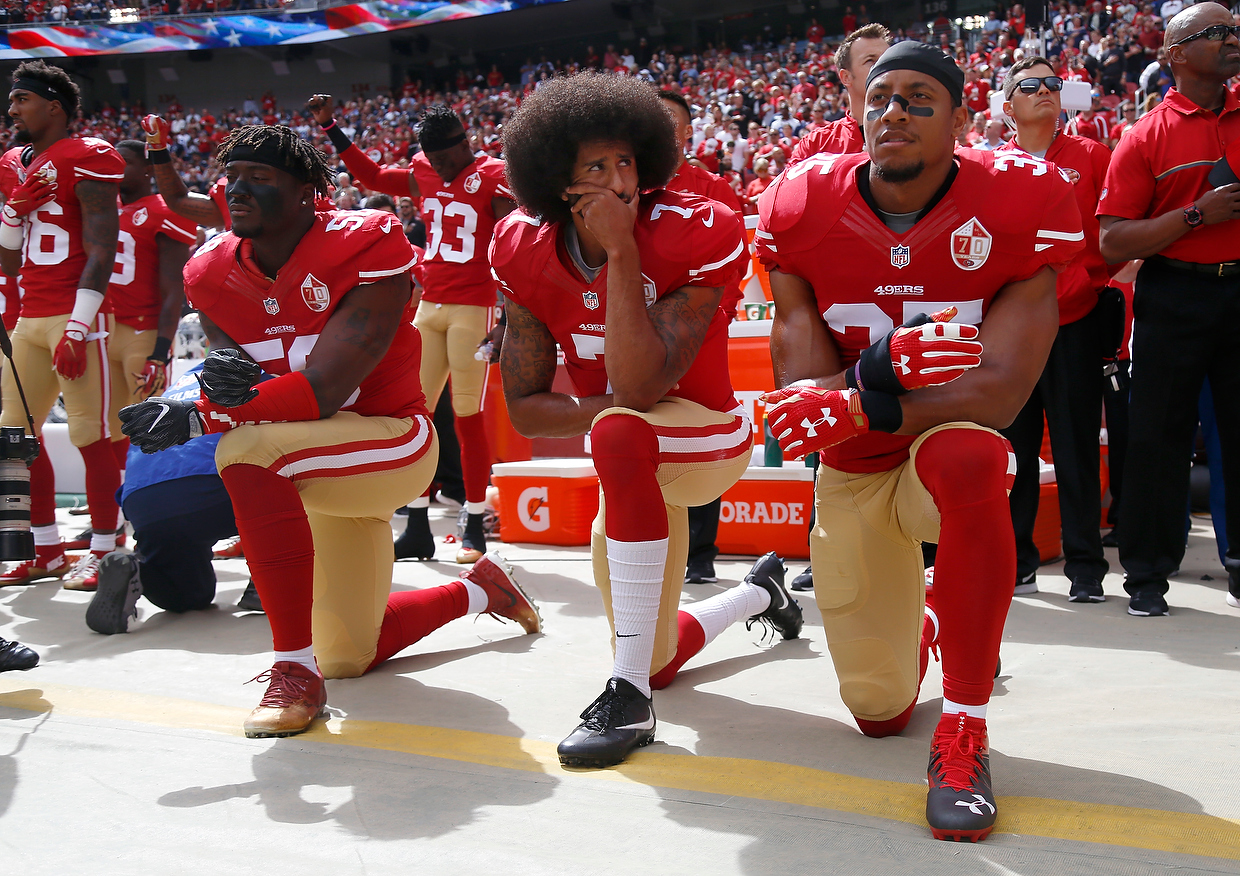 NFL Player Eric Reid Backs Away from Anthem Protest