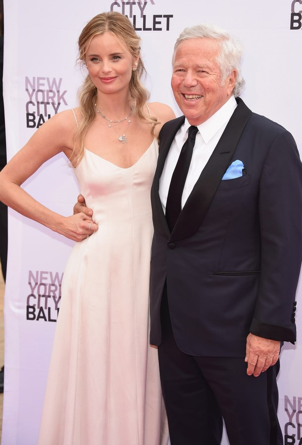 NEW YORK, NY - SEPTEMBER 20: Ricki Noel Lander and Robert Kraft attend the New York City Ballet 2016 Fall Gala at David H. Koch Theater at Lincoln Center on September 20, 2016 in New York City. (Photo by Dimitrios Kambouris/Getty Images)