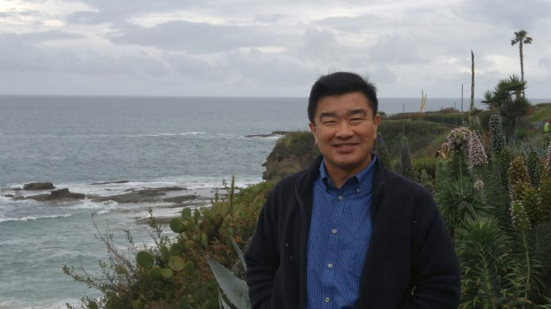 This photo provided by the family of Tony Kim, shows him in California in 2016. Sol Kim, the son of an Tony Kim, an American held in North Korea sees a glimmer of hope that a planned summit by President Donald Trump and Kim Jong Un can help win his father's freedom. Sol Kim says he remains in the dark about why his father, a 59-year-old Korean American, was detained at Pyongyang airport last April after a monthlong stint teaching accountancy at a university in the North Korean capital. The father, Tony Kim, whose Korean name is Kim San-duk, is one of three Americans North Korea is holding. (Tony Kim family via AP)