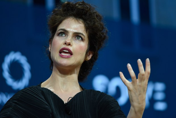 Dr. Neri Oxman, Associate Professor of Media Arts and Sciences, MIT, speaks at The 2017 Concordia Annual Summit at Grand Hyatt New York on September 18, 2017 in New York City. (Photo by Riccardo Savi/Getty Images for Concordia Summit)
