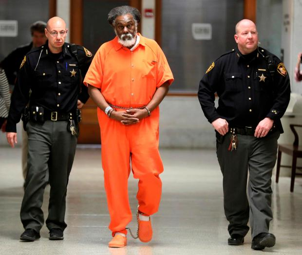 Convicted killer Nathaniel Cook, March 2018. (Dave Zapotosky/The Blade via AP, File)