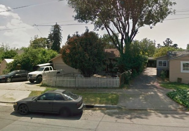 The heavily fire-damaged home on Bird Avenue in San Jose, which landed onthe market Thursday morning for $799,000, is shown before the fire. (Photo from Google Maps)