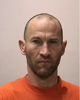 Dustin Hamilton, 44, a San Francisco transient, is being sought by authorities after he broke into his family's home in South San Jose, stole two guns, and left behind a letter threatening to shoot police officers and people in San Francisco, according to San Jose police. (San Jose Police Dept.)