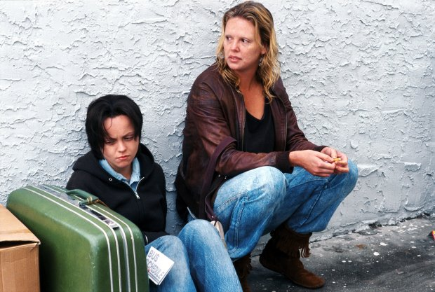 Charlize Theron and Christina Ricci in MONSTER. A Newmarket Films release. © 2003