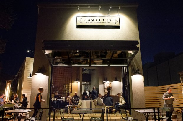 Compline is a wine bar, restaurant and merchant in downtown Napa's FirstStreet Napa. They serve lunch and dinner daily and offer wine classes as well. (Photo: Compline Wine Bar)