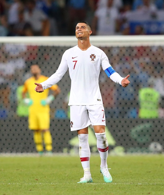 a18ce034b92 Messi and Ronaldo exit World Cup without titles – The Mercury News