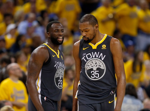 0c856a2b068 Warriors  The crux of the Draymond Green-Kevin Durant drama
