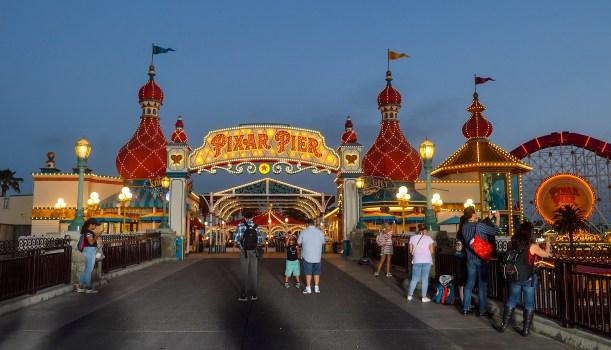 Entrance Print California Disney Adventure