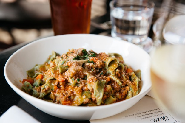 Nibble on Tratto's house-made pastas and other rustic Italian cuisinebefore catching a show at the nearby Curran Theatre in San Francisco. (Photo courtesy of Tratto)