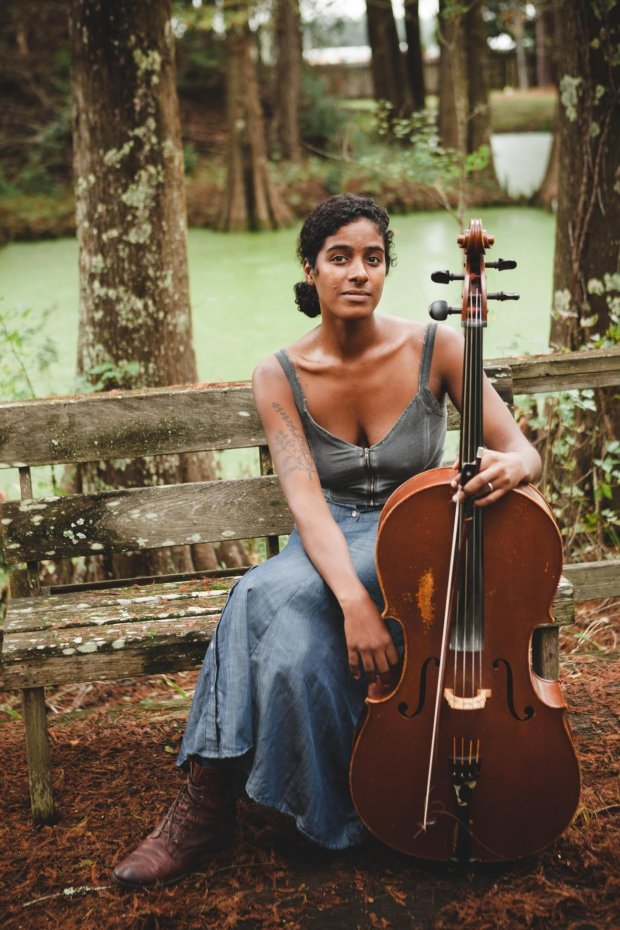 Grammy winner Leyla McCalla transcends music genres, playing classical andjazz cello and folk banjo and guitar. She will appear on the SFJAZZ Center stage Feb. 9-10, 2019. (Courtesy SFJAZZ)