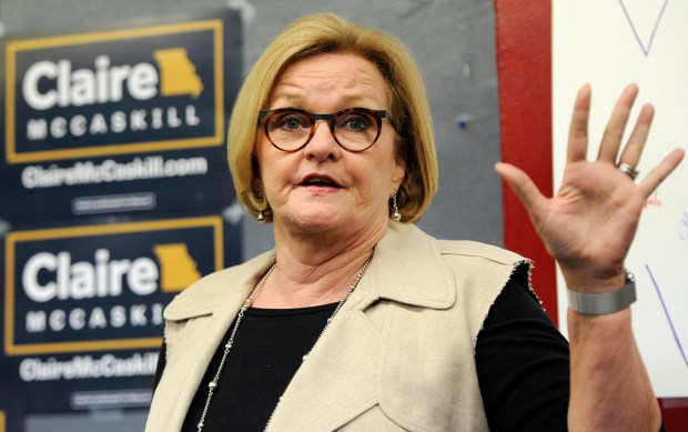 Sen. Claire McCaskill, D-Mo., May 18, 2018. (AP Photo/Bill Boyce, File)