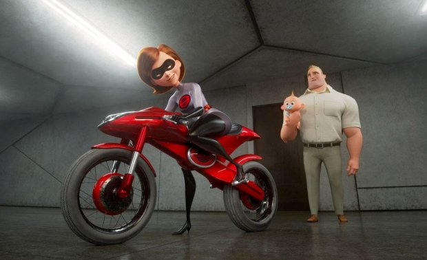 "Elastigirl becomes a solo superhero in ""Incredibles 2."" MUST CREDIT:Disney-Pixar"