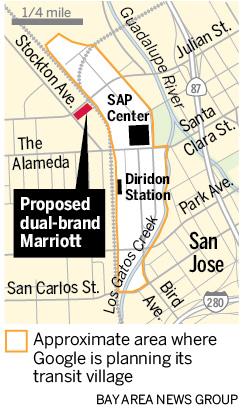 圣何塞市中心的酒店和住宅项目拥有万豪品牌
