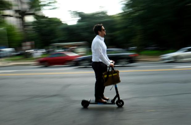 Scooter use is rising in major cities. So are trips to the ...