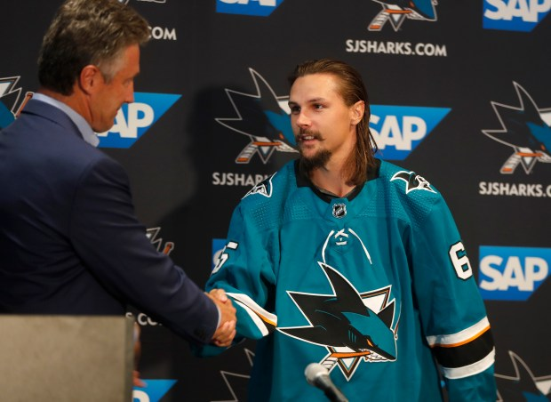best sneakers fe16b eda7c Gustav Nyquist picked the Sharks, will Erik Karlsson?