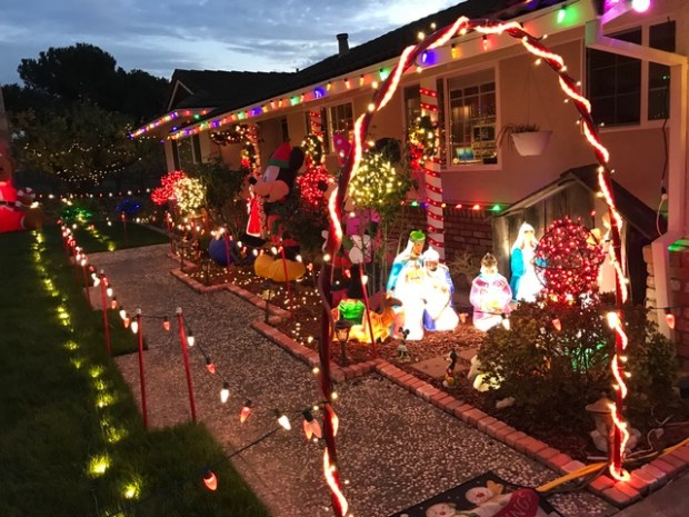 The holiday light display at the Mattos home in San Jose. (J.R. Mattos) - Holiday Lights: 19 Spectacular Bay Area Displays