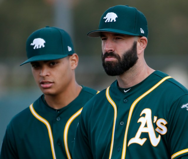As Mike Fiers Not High On Facing Mike Trout In Mlb Spring