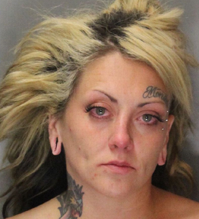 Megan 'Monster' Hawkins arrested after witness recognizes her from 'Jailbirds'