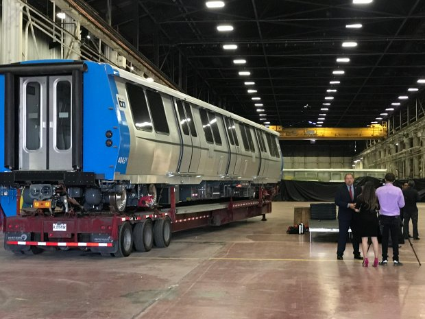BART's new train cars to be built at Pittsburg plant in fall