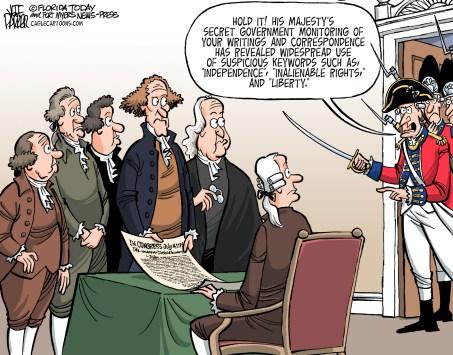 Political Cartoons: July 4