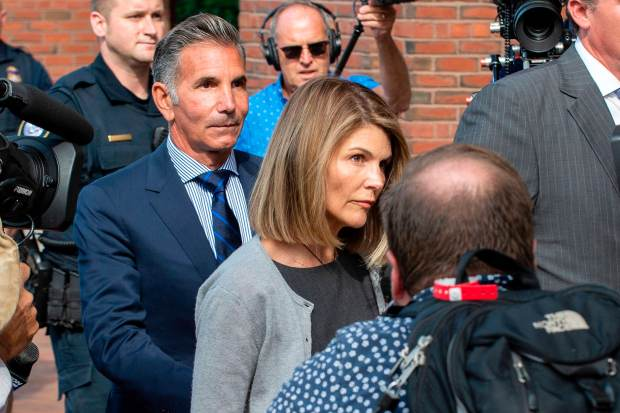 Felicity Huffman's fate to be revealed in sentencing watched by other parents charged in college admissions scandal