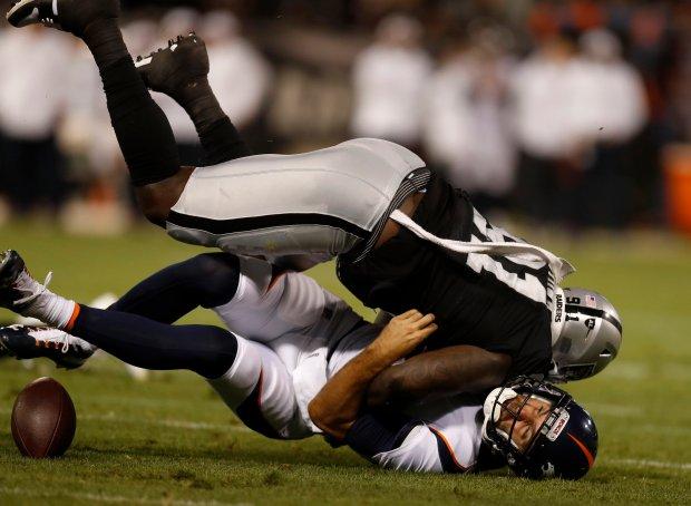 Raiders report card vs  Denver: Jon Gruden, Derek Carr shine
