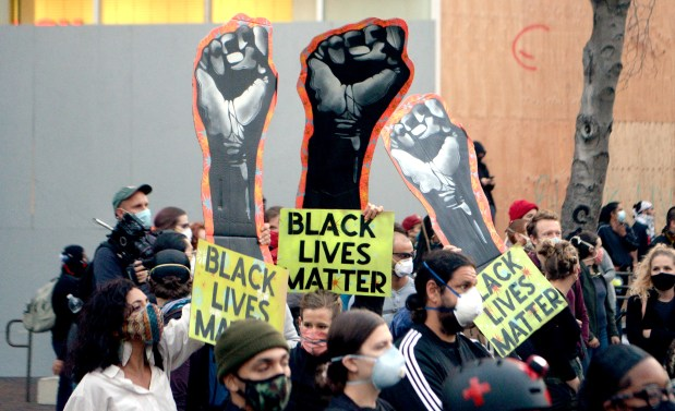 Photos: A look back at Bay Area protests after George Floyd's death 10