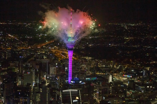 New Year's Evening celebrations from around the world 4
