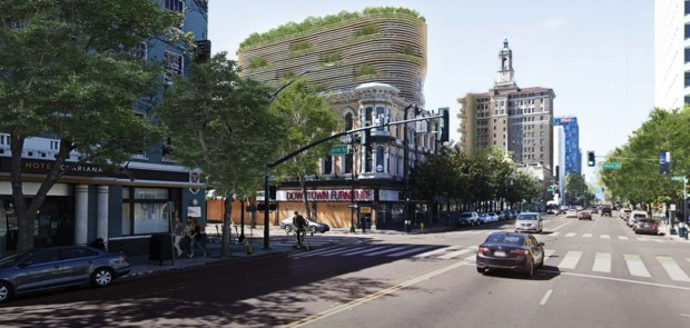 Real estate: Curved tower poised to be unique addition to downtown San Jose skyline