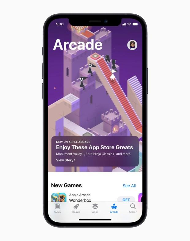 Monument Valley Apple iPhone Arcade