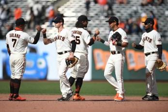 SF Giants already trail Dodgers, Padres despite hot start