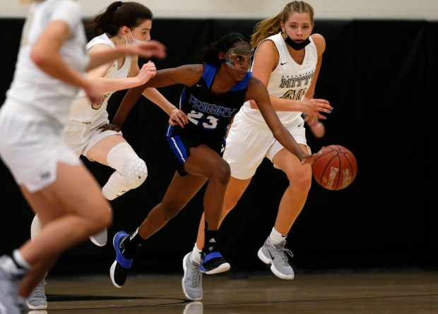 CCS basketball: Mitty topples Priory to reach another girls Open Division final 3