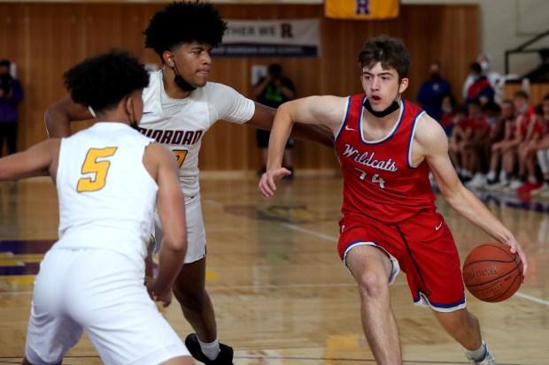 Prep basketball: Riordan advances to CCS Open final in wild finish over St. Ignatius 3