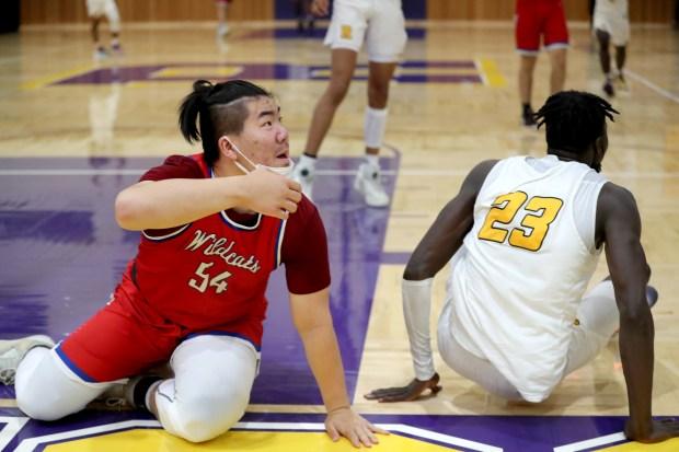 Prep basketball: Riordan advances to CCS Open final in wild finish over St. Ignatius 14