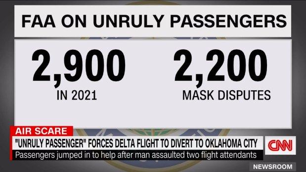 Delta passengers, crew subdue off-duty flight attendant on LA to Atlanta flight
