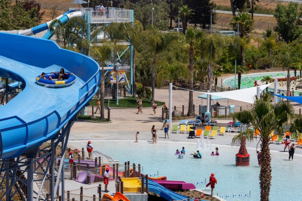 Brand new South Bay Shores waterpark opens at Great America 2