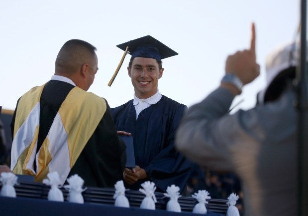 Photos: Leland High School honors their Class of 2021 with two socially distanced graduation ceremonies 6