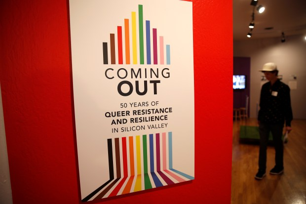 Photos: LGBTQ exhibit focused on Silicon Valley movement opens at History Park 3