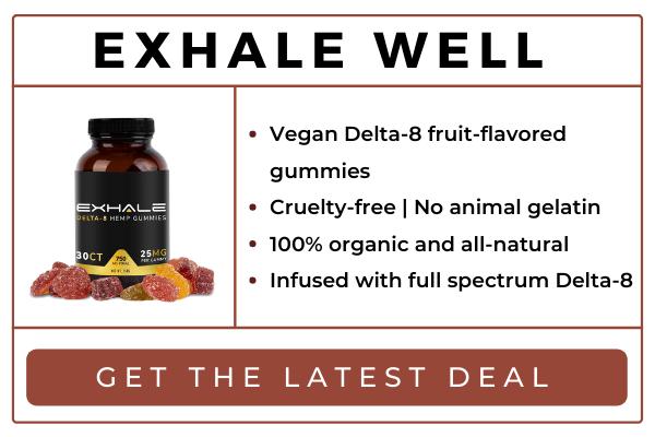 Exhale Delta 8 Gummies