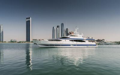Abu Dhabi F1 Yacht Charter Available – 37m Luxury Superyacht