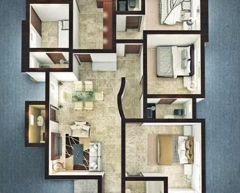 3bedroom bungalow plan