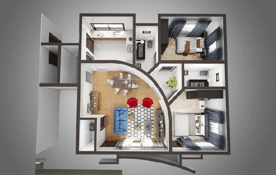 Cranbel_Edge_2_Bedroom_Floor_Plan