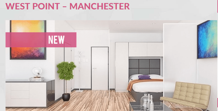 Image result for WEST POINT STUDIOS & 1 BEDS – MANCHESTER