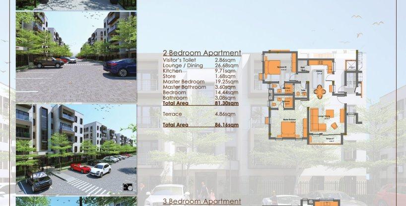Lekki luxury 1, 2 & 3 bedroom bespoke Apartments