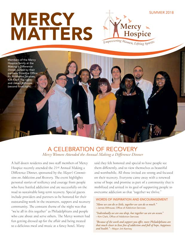 Mercy Matters Summer newsletter now available