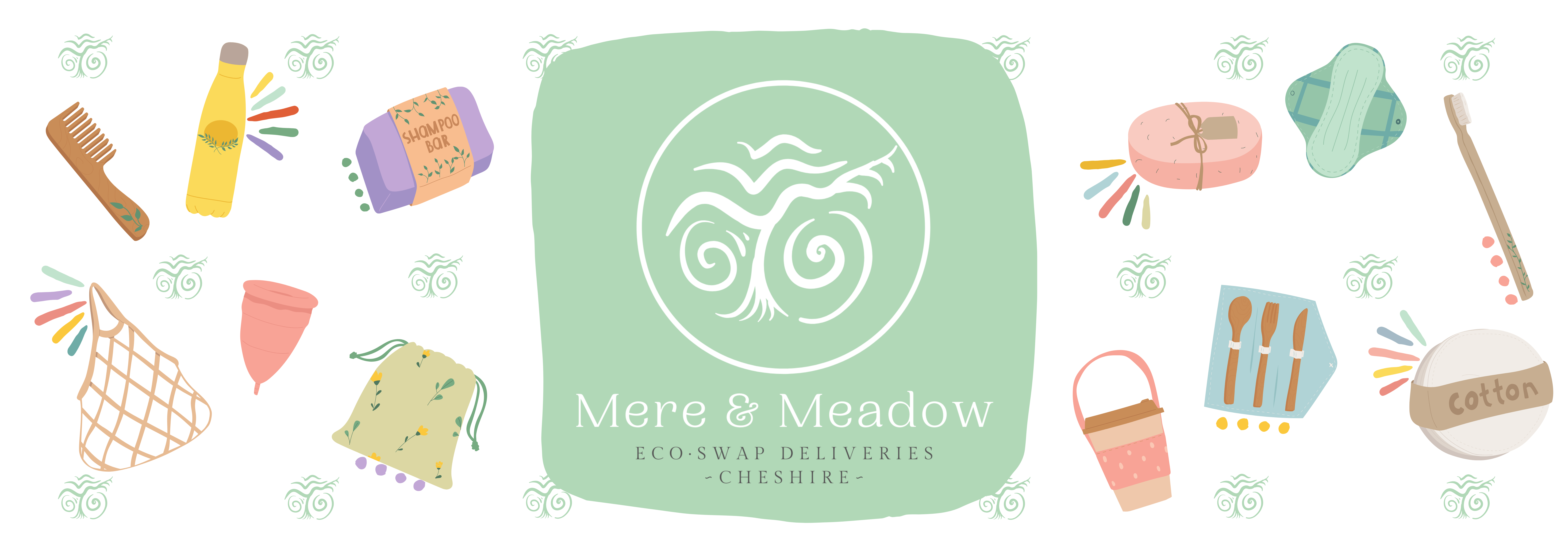 Mere & Meadow Eco·Swap Deliveries Cheshire